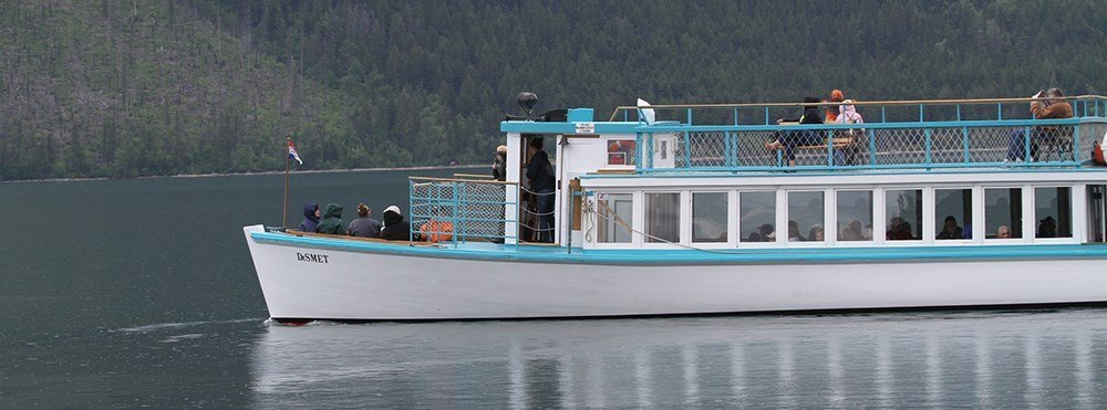 Glacier National Park Boat Trips with Rangers