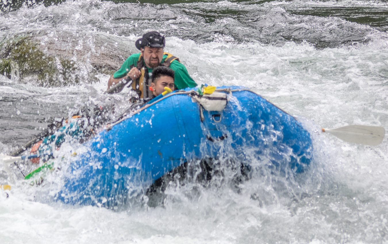 Busting Whitewater on the Clackamas River in May 2018